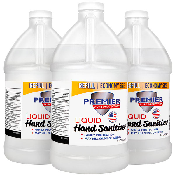 liquid Hand Sanitizer Refill